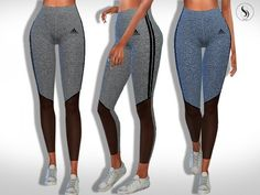 The Sims 4 Transparent Fitness Leggings The Sims 4 Pc, Sims 4 Cas, Sims Cc, Los Sims 4 Mods, Sims 4 Game Mods, Sims 4 Mods Clothes, Sims 4 Clothing, Leggings Transparentes, Crop Top And Leggings