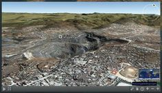 Ever wondered where all the gold and diamonds in the world come from? Perhaps you have stumbled across a large mine while exploring on Google Earth but now there is a online platform that enables you to find all the mines on Earth and its called Mining Atlas  Mining Atlas provides a 3D interactive platform that enables you to take tours of mines and their surrounding areas, helping you to understand more about their scale and their impact on the surrounding area Exploring, Scale, Diamonds, Platform, Earth, Tours, 3d, World, Water