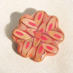 Flower pencil pin by jenmaestre