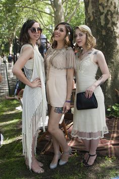 On the grounds of the Jazz Age Lawn Party in New York City. [Photo: Morrigan Maza]