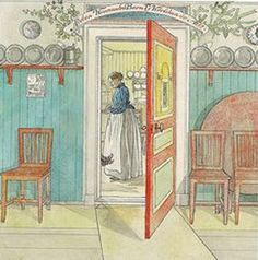 Swedish Interiors, Carl Larsson, Free Online Jigsaw Puzzles, Family Painting, New Shop, Home Decor Furniture, Old Houses, Vintage World Maps, Arts And Crafts