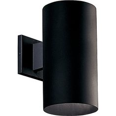 6 in. cylinder with heavy duty aluminum construction and die cast wall bracket. Sleek design offers a superior low-profile option for lighting building exteriors. Powder coated finish. UL listed for wet locations.