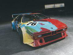 ポップアートの巨匠、故アンディ・ウォーホルが自らペイントした79年式BMW M1 Group 4 Racing Versionの「BMWアート・カー」