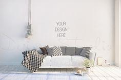 interior PSD, living room photo by HisariDS Mockup Design on @creativemarket