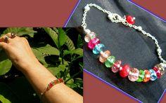 Tourmaline Jewellery – Abundance Gems Bracelet, Tourmaline & Ruby – a unique product by CamelysUnikatBijoux on DaWanda