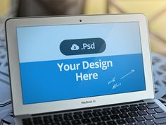 Dribbble - Macbook Template PSD - FREE by David Kovalev http://d.pr/f/z8PK