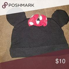 Minnie Mouse Hat Cute Minnie Mouse baby hat Disney Baby Accessories Hats