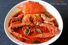 Ruchik Randhap (Delicious Cooking): Mangalorean Crab Sukka Masala ~ When The Hubby Cooks!
