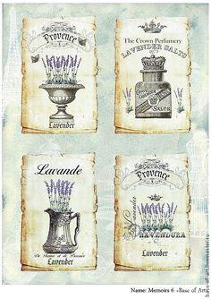 """Купить Декупажные карты """"Французский винтаж"""" от """"Base of Art"""" - декупажная карта, винтаж, Франция"""