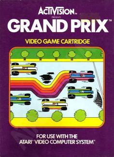 "Les ""Atari 2600 Rainbow Boxes"" d'Activision - Grand Prix - 1982"