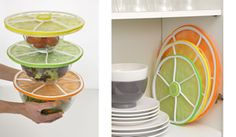 New to the store today! Charles Viancin Citrus Stacking Lids!