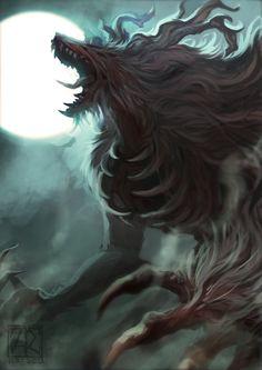 Bloodborne - Cleric Beast by Artsed.deviantart.com on @DeviantArt