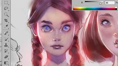 Coloring Tutorial - Purple Tint [helps me a lot]