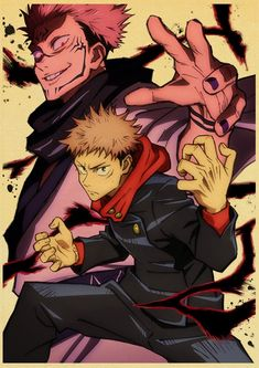 Back to College Anime Poster Jujutsu Kaisen Retro Kraft Paper Poster For Living Room Bar Interior Decoration Stickers Wall Painting - 30x21 cm-04 / Q036