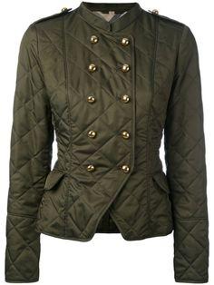 Shop Burberry equestrian jacket.