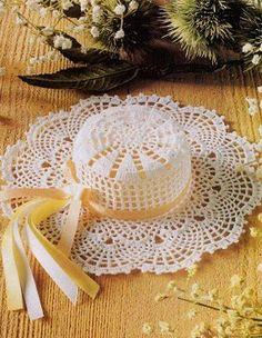 Crochet hat #6 with diagram