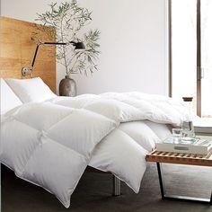 Soft Bedroom Goose Down Comforter For Winter Time