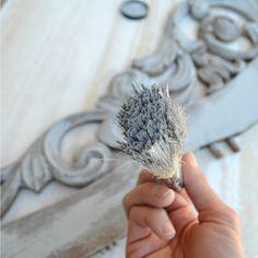 La técnica del pincel seco aplicada a la #Decoración