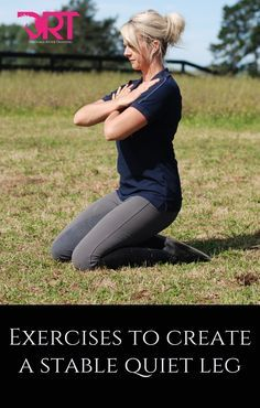 Exercise Video exercises on how to improve rider leg strength and stability - 6 Leg Exercises To Improve Dressage Rider Leg Strength Dressage, Horse Exercises, Horse Riding Tips, English Riding, English Horseback Riding, Riding Lessons, Equestrian Outfits, Equestrian Fashion, Horse Training