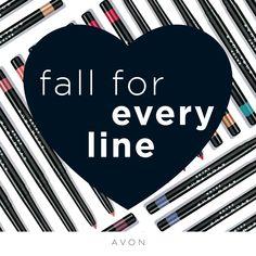 Avon True Color Glimmersticks Lip Liner comes in a creamy, soft formula that delivers a precise line every time. True Colors, Lip Colors, Mascara, Brow Liner, Oil Shop, Avon True, Avon Online, Avon Representative, Free Makeup