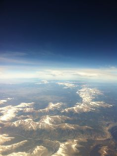 Continental divide - Colorado Rockies Continental Divide, Colorado Rockies, Mother Nature, Airplane View, Outdoors, Outdoor Rooms, Off Grid, Outdoor, Nature