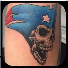old school new england patriots logo tattoo football fan tattoos pinterest patriots logo. Black Bedroom Furniture Sets. Home Design Ideas