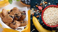 Chrumkavé a zdravé keksíky prevoňajú vašu kuchyňu. Pripravte si ich viac a základ pre dobrú náladu budete mať na celý týždeň. Cereal, French Toast, Cookies, Breakfast, Desserts, Food, Crack Crackers, Morning Coffee, Tailgate Desserts