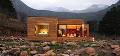Planos Casas de Madera Prefabricadas: Casas Ecologicas