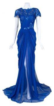 Tadashi Shoji Royal Blue Evening Dress $322