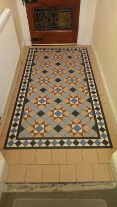 Tile shop in Derby supplying slate, marble, mosaic, porecelain, terracotta and victorian tiles for bathrooms and kitchens Victorian Flooring, Victorian Tiles, Hall Flooring, Porch Flooring, Bathroom Floor Tiles, Tile Floor, Minton Tiles, Terrace Tiles, Porch Tile