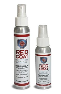 RED COAT REPELLENT  Bed Bug Repellent Spray 2oz Bottle Twin Travel Pack Net 4oz For Travel *** Check out this great product. #PestRepellents
