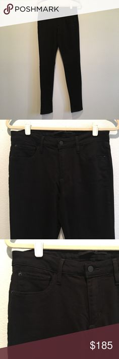 Joe's Skinny Visionaire Black Jeans Excellent condition. No damage. 37% Rayon, 37% cotton, 24.5% tencel, 1.5% Lycra. Inseam 35 inches. Joe's Jeans Jeans Skinny