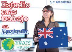 #ProgramaDelDía  #EstudiomásTrabajo en #Australia  ¿Quieres vivir la experiencia de trabajar en el extranjero? ¡La oportunidad es tuya! Regístrate a partir de 16 semanas el un programa de #inglés y ¡el país te permite trabajar medio tiempo durante la duración de tu programa! Solicita tu presupuesto sin compromiso. #EstudiaYTrabaja #EnjoyLanguages #Travel #Explore