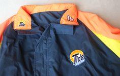 Vintage Tide Racing Team Jacket, NASCAR, #10 Ricky Rudd, Osterman Jacket, Zip-up Jacket, American Racing, Race Cars, Gift for Him $35.00 on Etsy