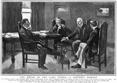 Anthracite Strike of 1902 | Theodore Roosevelt : Political Cartoons : Coal Strike