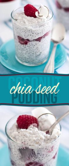Coconut Chia Seed Pudding by Sonia! The Healthy Foodie