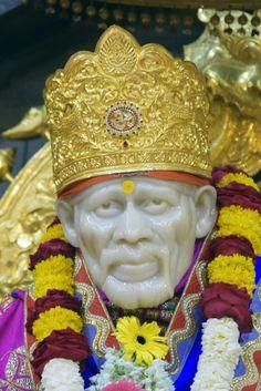Sai Sai Baba Wallpapers, Album Photos, Om Sai Ram, Positive Things, Motivational Speeches, God Pictures, Indian Gods, Ganesha, Blessing