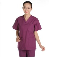 Nurse Uniform Doctors Women Medical Clothes Sets 100% Cotton Printed Scrubs Dental Clinicos Beauty Salon Spa Work Wear Suit Good Taste Medical