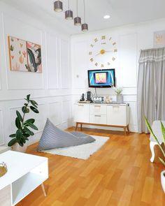 10 Model Rak TV Minimalis 2021 Modern Terbaru | Dekor Rumah Decor Home Living Room, Home And Living, Living Room Designs, Bedroom Decor, Home Decor, Home Room Design, Small House Design, Home Design Plans, Indian Living Rooms