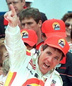 Darrell Waltrip...3 time NASCAR Champion-1981, 1982, and 1985 NASCAR Winston Cup Champion...Also NASCAR HOF