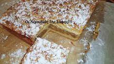 apple-pie-daddy-cool.gr Apple Recipes, Apple Pie, Tiramisu, Food To Make, Brunch, Food And Drink, Daddy, Baking, Sweet
