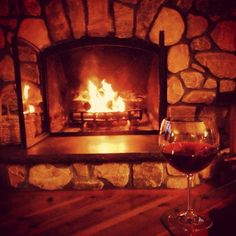 COZY FIREPLACE WINE | red wine and a fireplace. (Drouhin Pinot Noir) | Comfy, Cozy, Warm ...