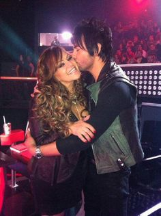 Jenni Rivera and Beto Cuevas