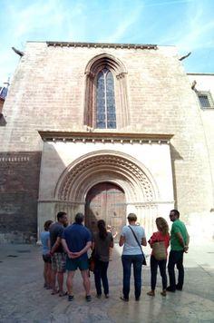 Porta del palau. Catedral de Valencia. Ruta Camins de Conquesta. La Valencia de Jaume I. Valencia. CaminArt