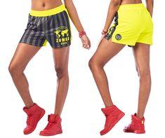 Zumba 2020 Shorts | Zumba Fitness Shop Zumba Strong, Zumba Outfit, M Color, Crop Tank, Shorts, Stripe Print, My Girl, Zumba Clothes, Active Wear
