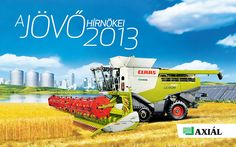 Creatum made a new calendar for Axial Ltd, the market leader of agricultural machines in Hungary. Click for more fantastic pages. :)