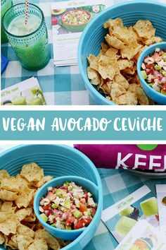 Get ready to party with your favorite fruit: avocados! Make this yummy vegan ceviche recipe paired with agua fresca for a refreshing summer party! Crispy Oven Fries, Crispy Oven Fried Chicken, Fries In The Oven, Skillet Chicken Parmesan, Chicken Parmesan Recipes, Vegan Ceviche Recipe, Skirt Steak Recipes, Avocado, Sweet Sauce
