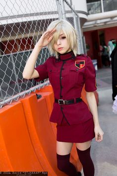 "Character: Seras Victoria / From: Kouta Hirano's 'Hellsing' Manga & Anime Series / Cosplayer: Stephanie Fischer (aka Salty Cosplay, aka Salty-Strawberri) / Photo: David ""DTJAAAAM"" Ngo / Event: Anime Matsuri (2016)"