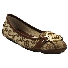 Michael Kors Fulton Logo Moccasin #VonMaur Have these and so comfy and cute with denim capris and a white T with denim jacket and some gold jeweled toned bangles