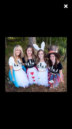 Items similar to Alice in Wonderland Adult tutu with rush - choose your own design - Alice - Queen of hearts - Mad Hatter - White Rabbit on Etsy Run Disney Costumes, Movie Halloween Costumes, Toy Story Costumes, Family Costumes, Halloween Outfits, Disney Halloween, Alice In Wonderland Costume, Alice In Wonderland Wedding, Kids Costumes Girls